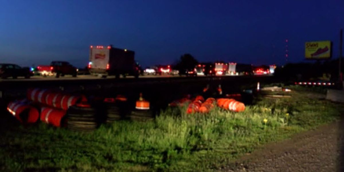 Twin Bridges traffic left at stand still for hours after deadly wreck
