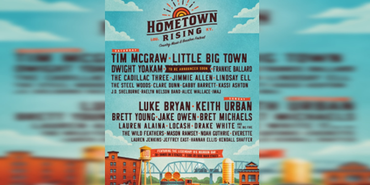 Country music and Bourbon, new music festival coming to Louisville