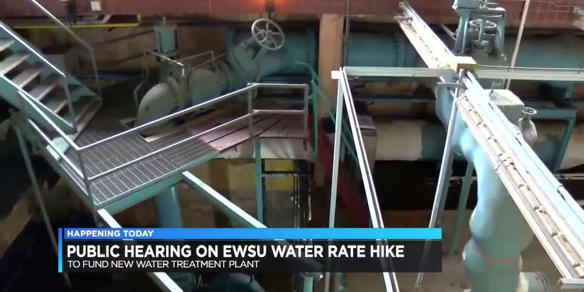 EWSU holding public hearing on possible water rate hike