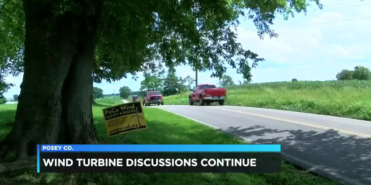 Wind turbine discussions continue in Posey Co.