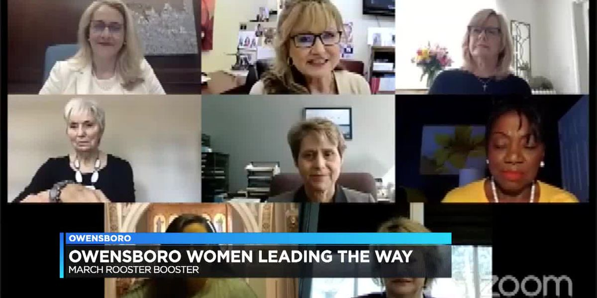 Owensboro's March Rooster Booster highlights impact of women throughout community