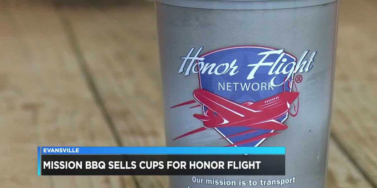 Mission BBQ sells cups to help Tri-State veterans