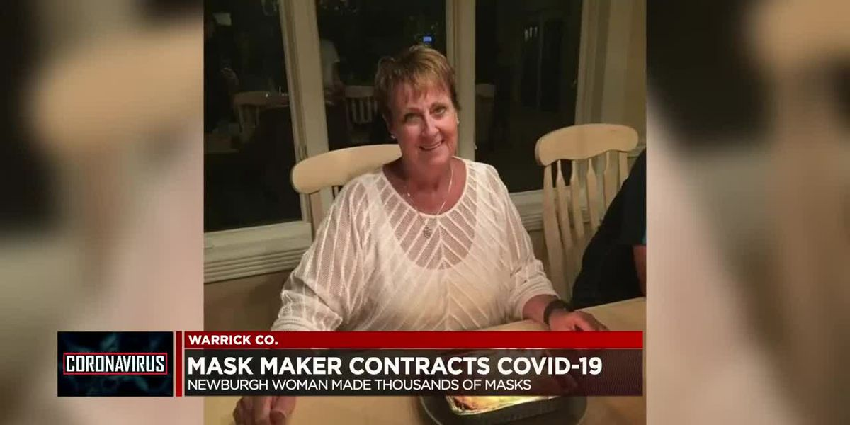 Newburgh woman contracts COVID-19 after making thousands of masks for community