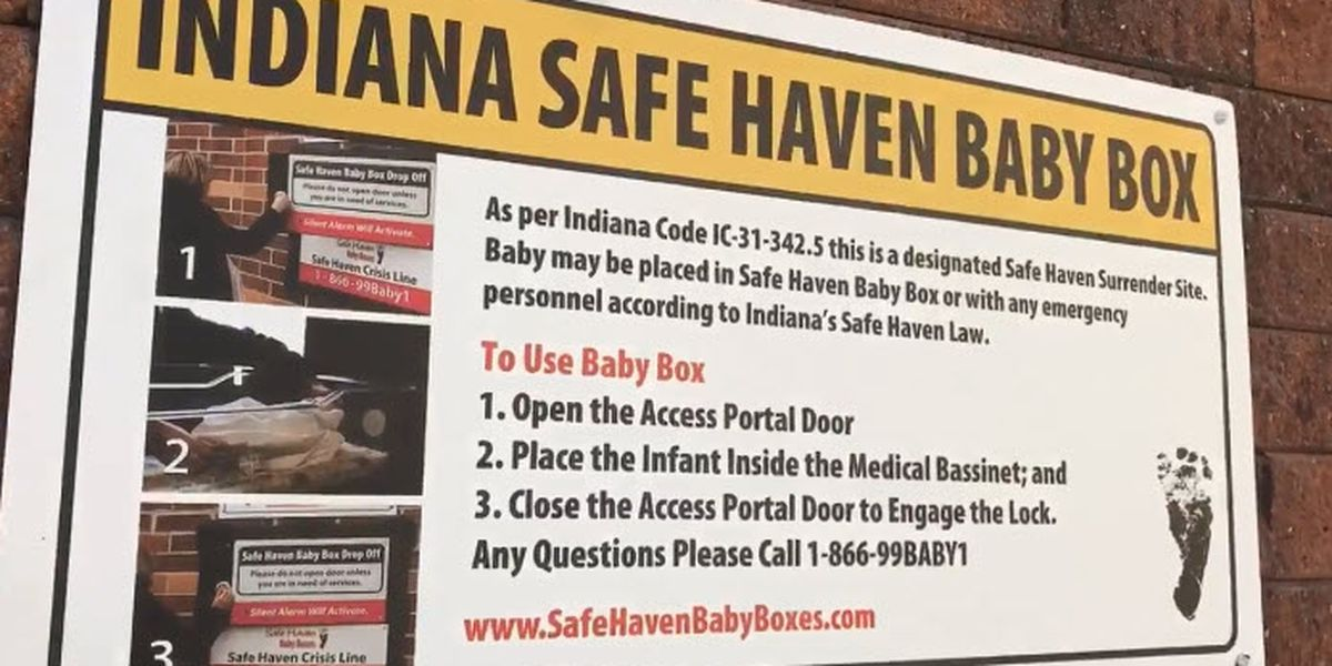 Safe Haven Baby Box unveiled in Ferdinand