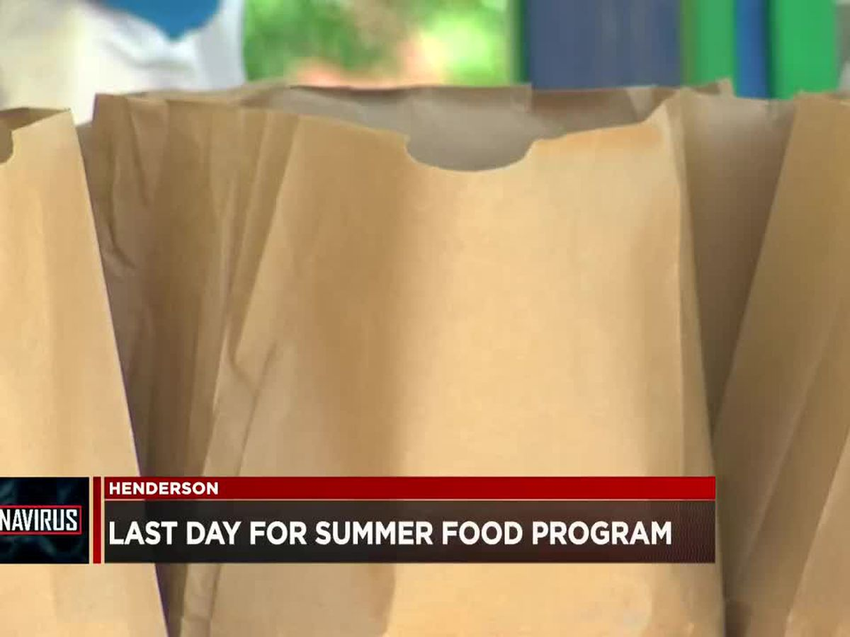 Henderson Co. Schools' summer feeding program ends Thur.