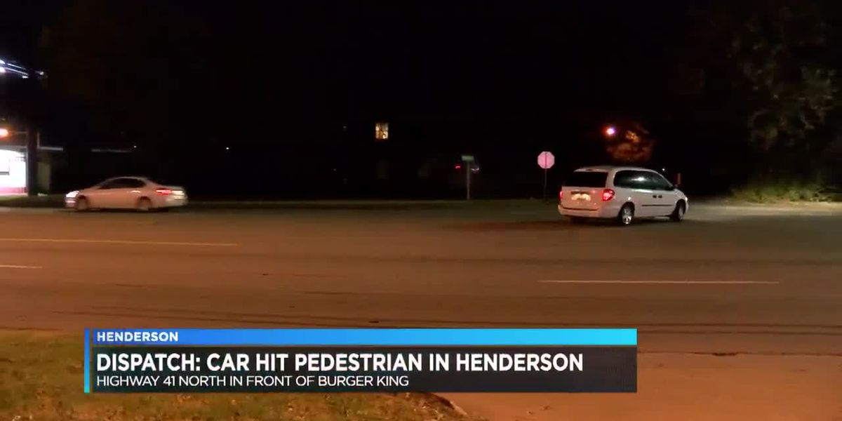 Dispatch: Car hit pedestrian in Henderson