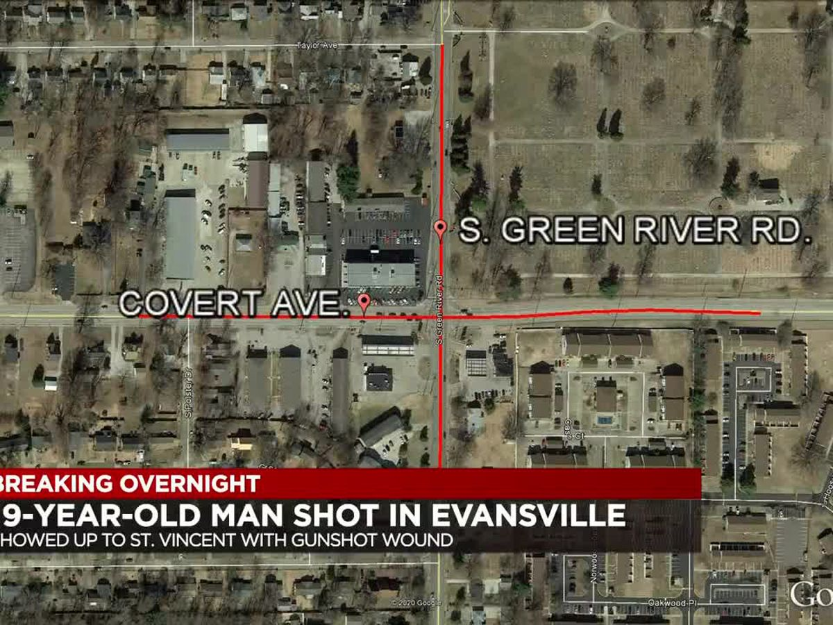 19-year-old shot in Evansville