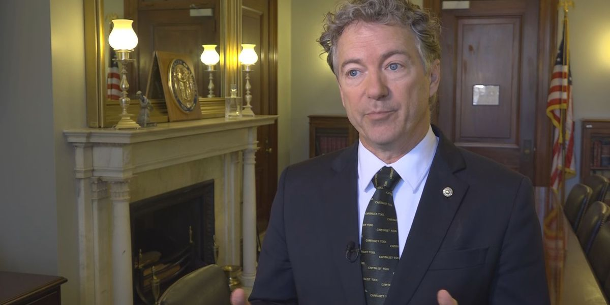 Sen. Rand Paul responds to criticism of trip to Canada for surgery