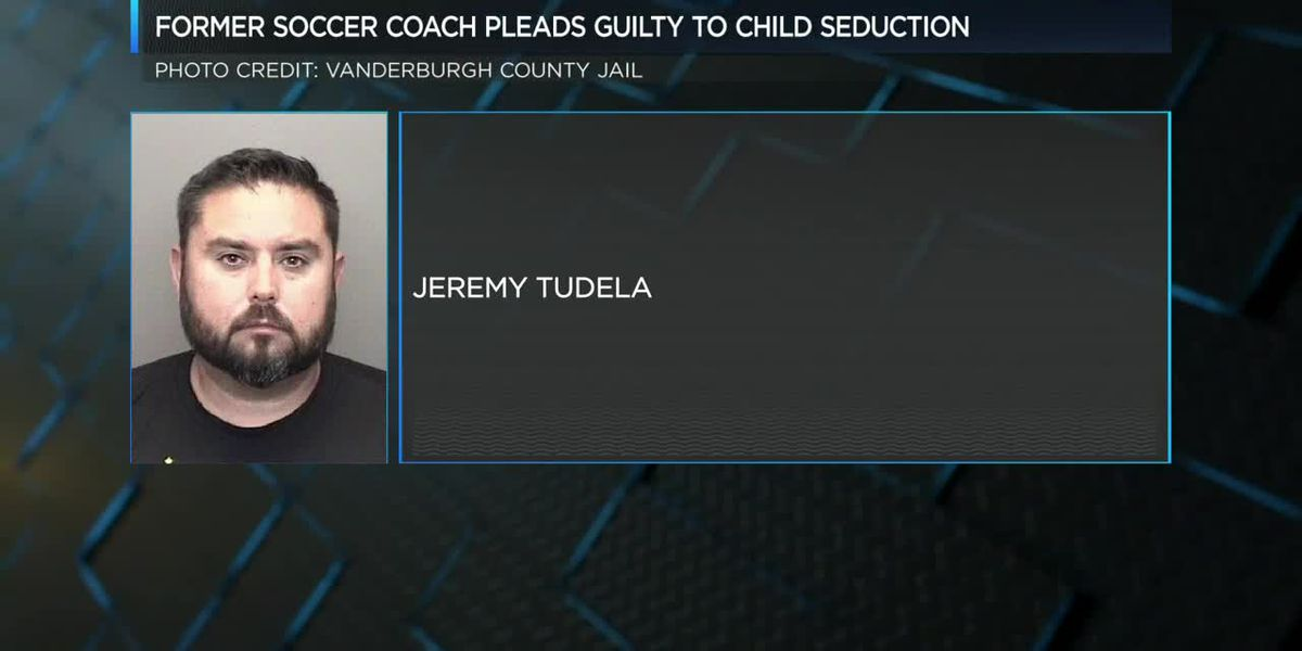 Former soccer coach pleads guilty to child seduction