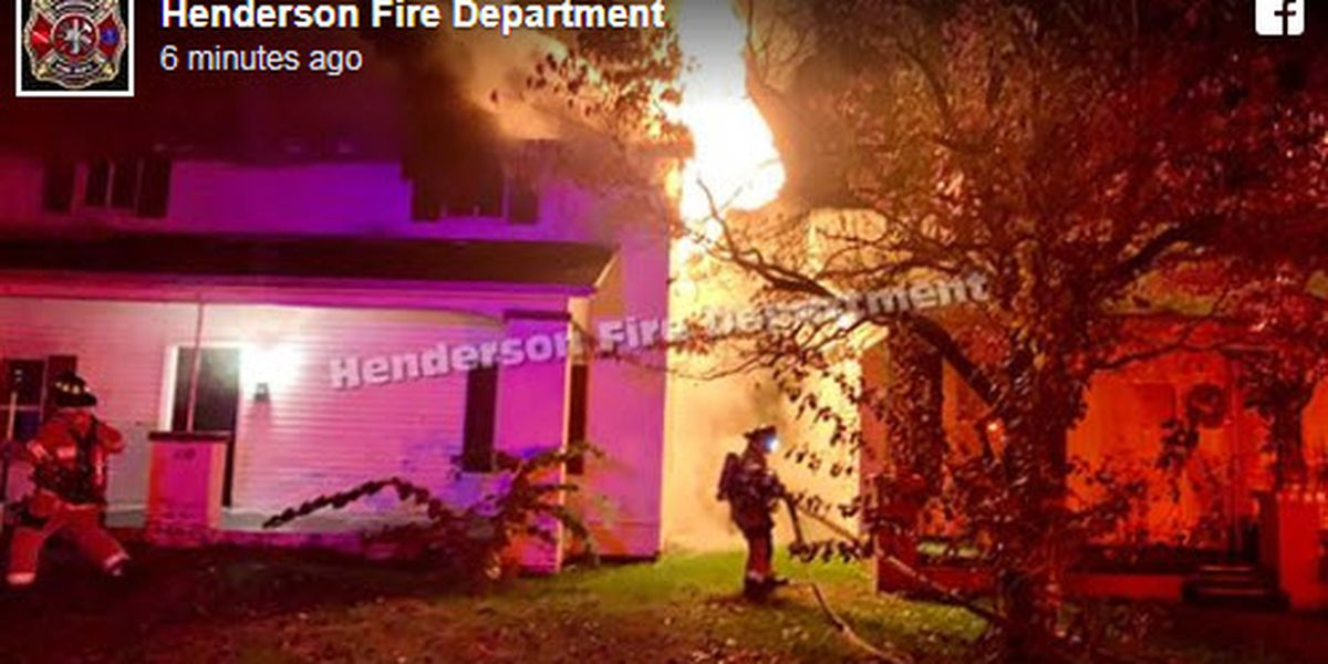 Firefighters put out house fire in Henderson
