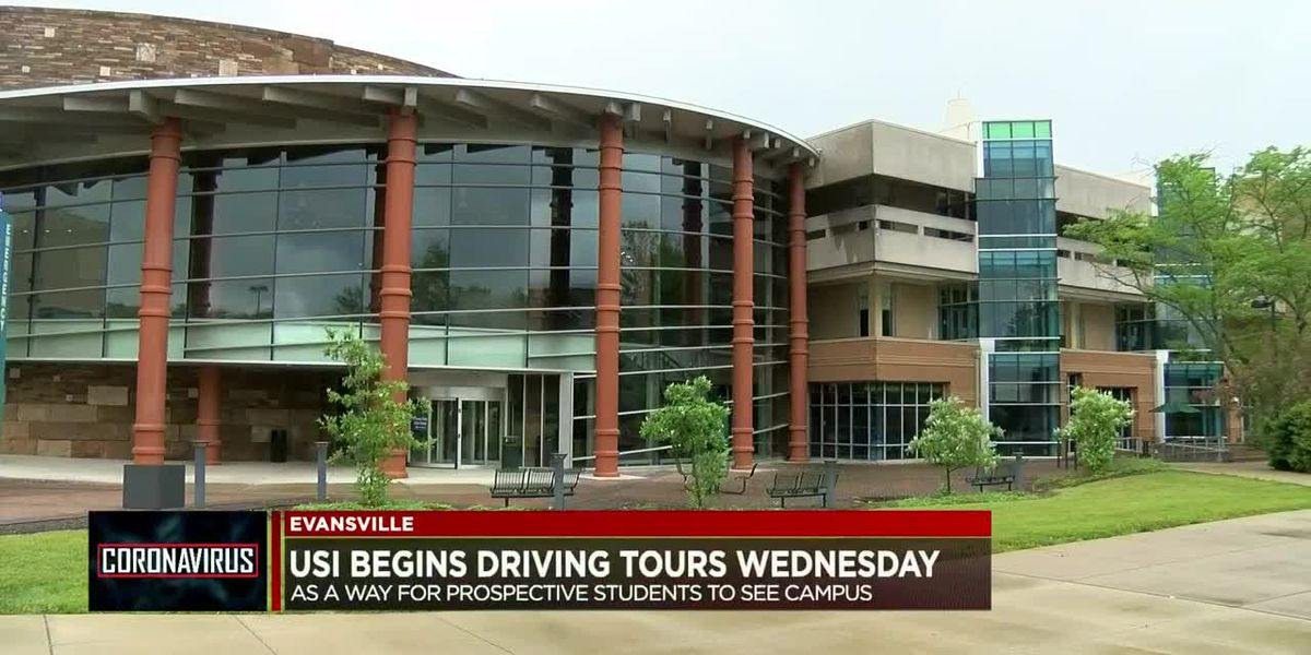 USI hosts driving tours for prospective students