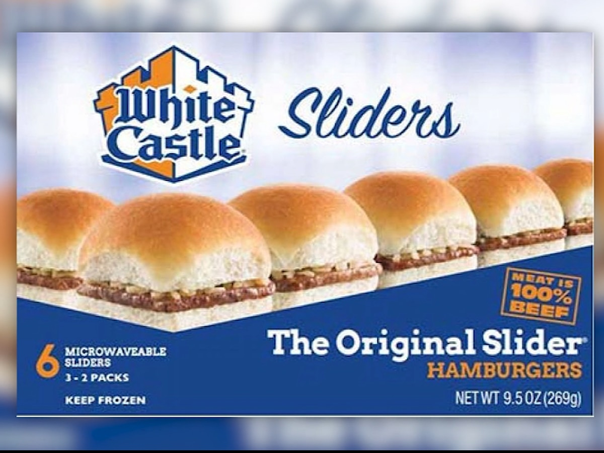 White Castle frozen burgers recalled due to listeria