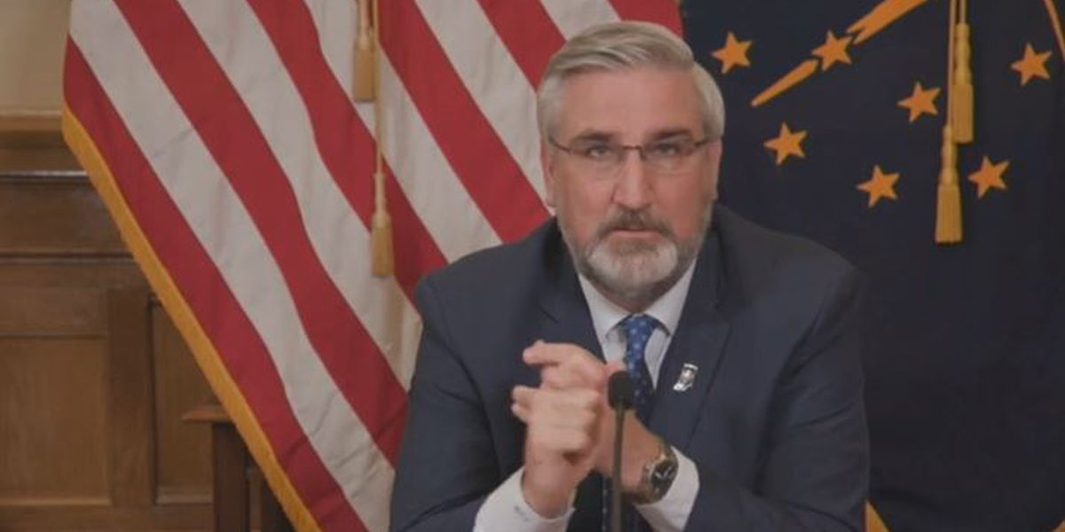 Gov. Holcomb vetos Senate Act aimed at limiting local health department actions