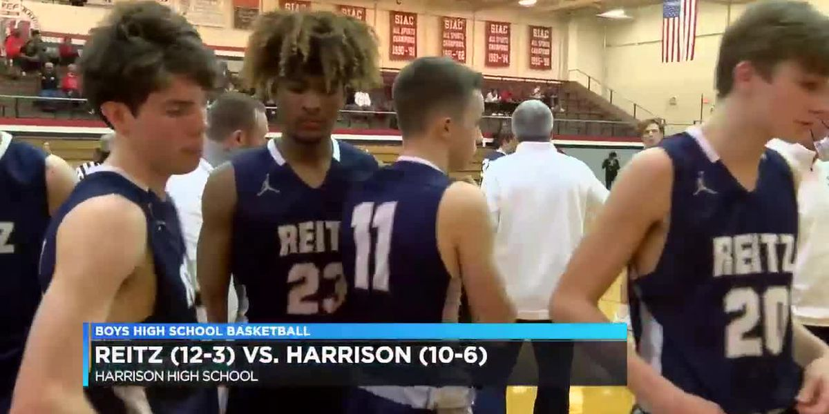HS Boys Basketball: Reitz vs. Harrison