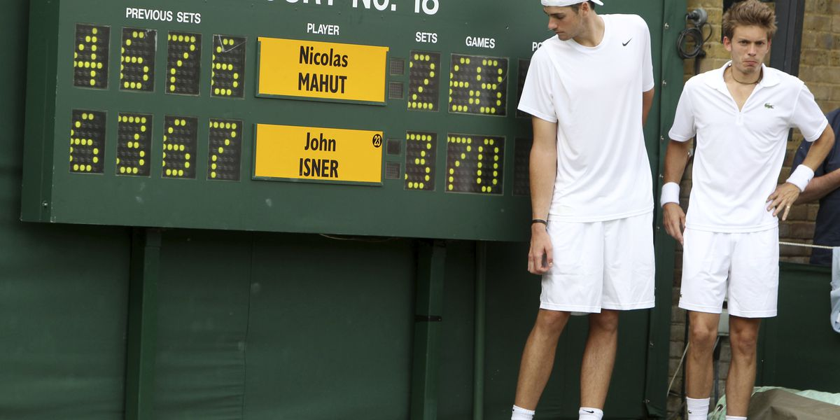 Isner wants Wimbledon tie-break rule named after him