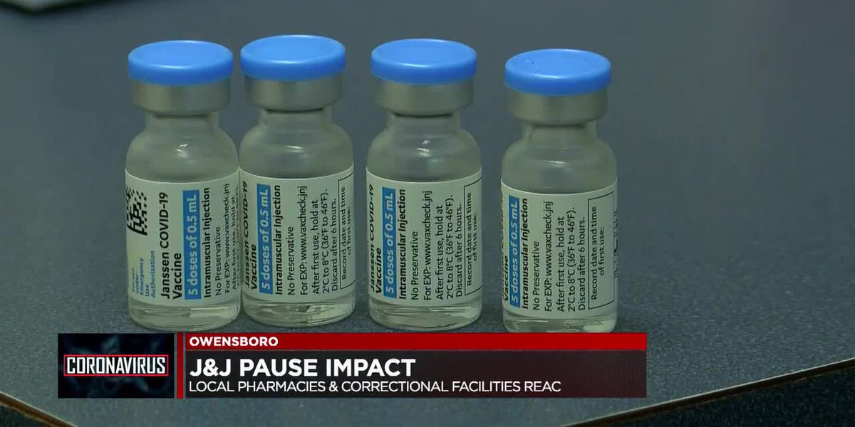 How J&J vaccine pause is impacting Ky. pharmacies & correctional facilities