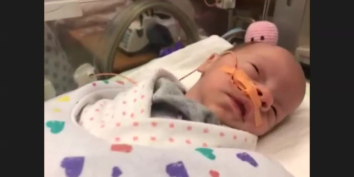 Henderson parents find doll clothes to fit their baby born nearly 3 months early
