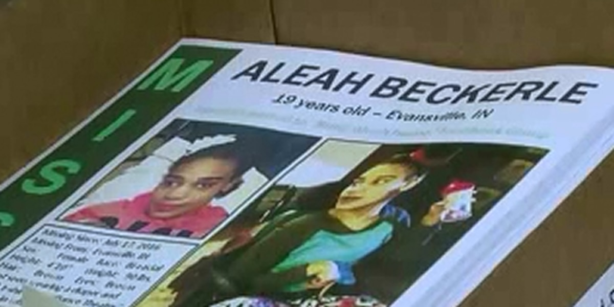 Search for Aleah Beckerle continues