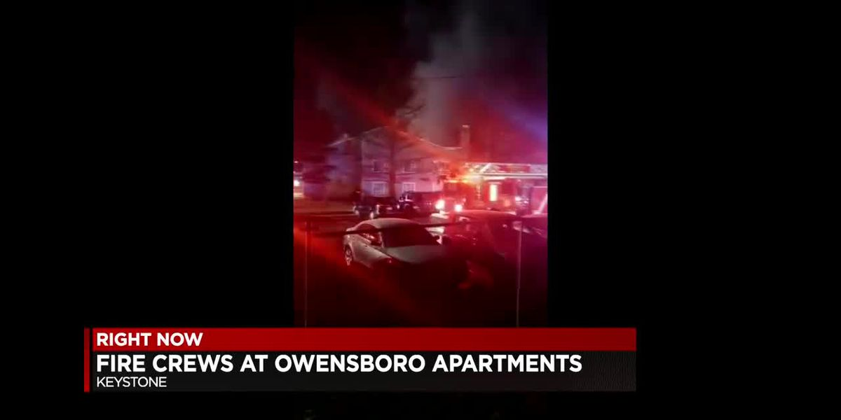 Fire crews respond to early morning apartment fire in Owensboro