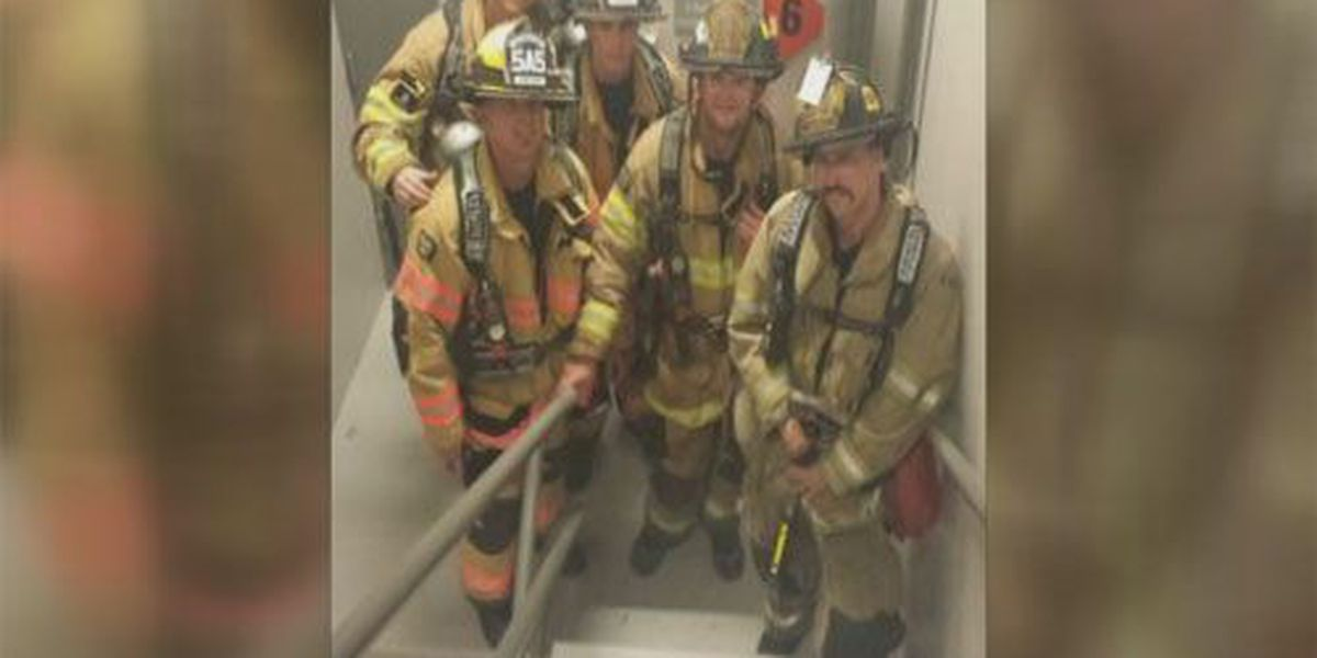 Tri-State firefighters climb stairs to honor victims of 9/11