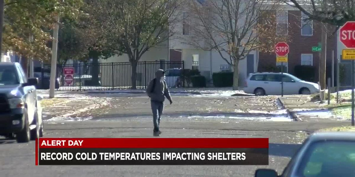 Record cold temperatures impacting shelters