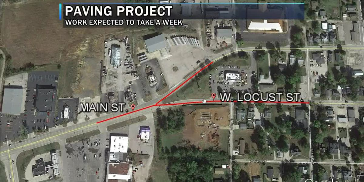 Traffic Alert: $2.4M paving project to begin in downtown Boonville