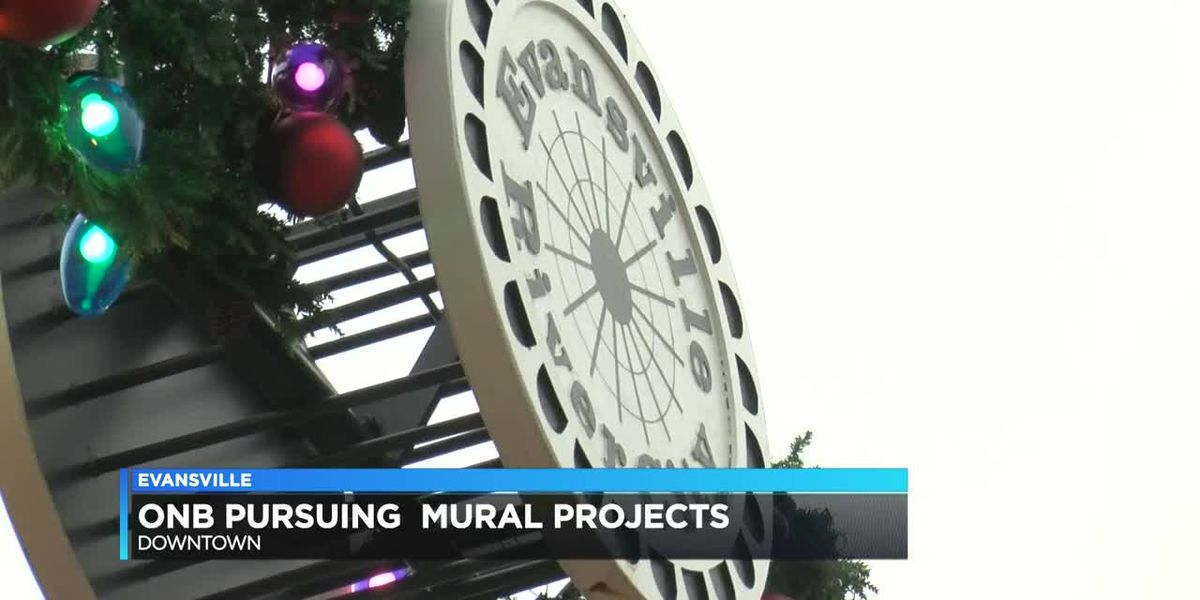 Old National Bank offers pair of buildings for mural projects