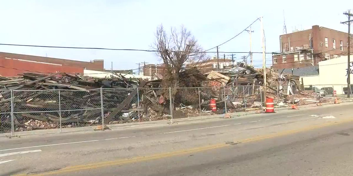 Henderson orders collapsed building debris clean up by March 6