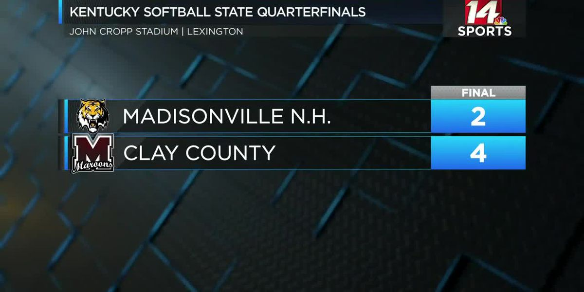 Madisonville NH Softball season ends in Elite 8