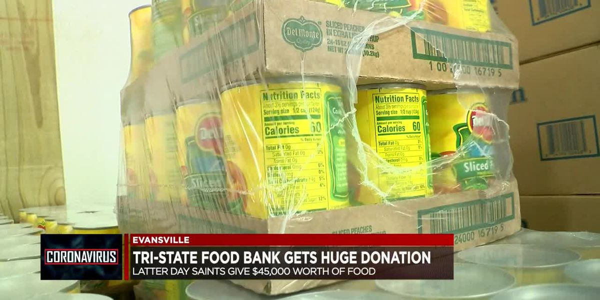 Tri-State Food Bank receives $45K worth in donated food