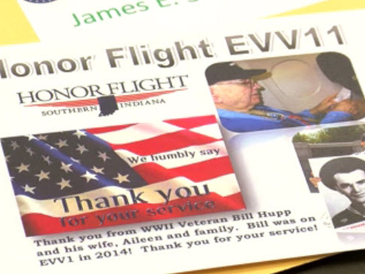 Hundreds of letters written to show appreciation for veterans