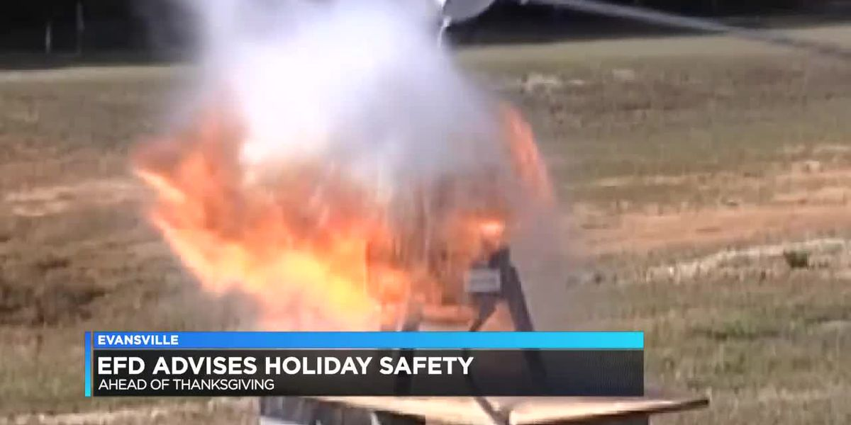 EFD urging public to cook with caution this Thanksgiving holiday