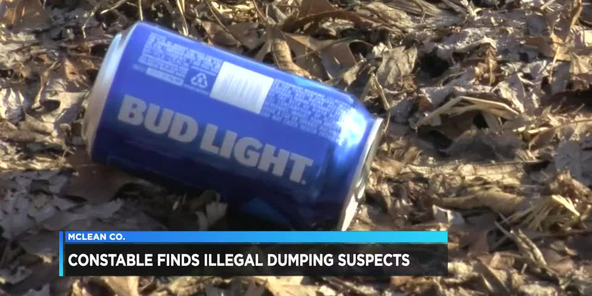 Officials find illegal dumping suspects in McLean Co.