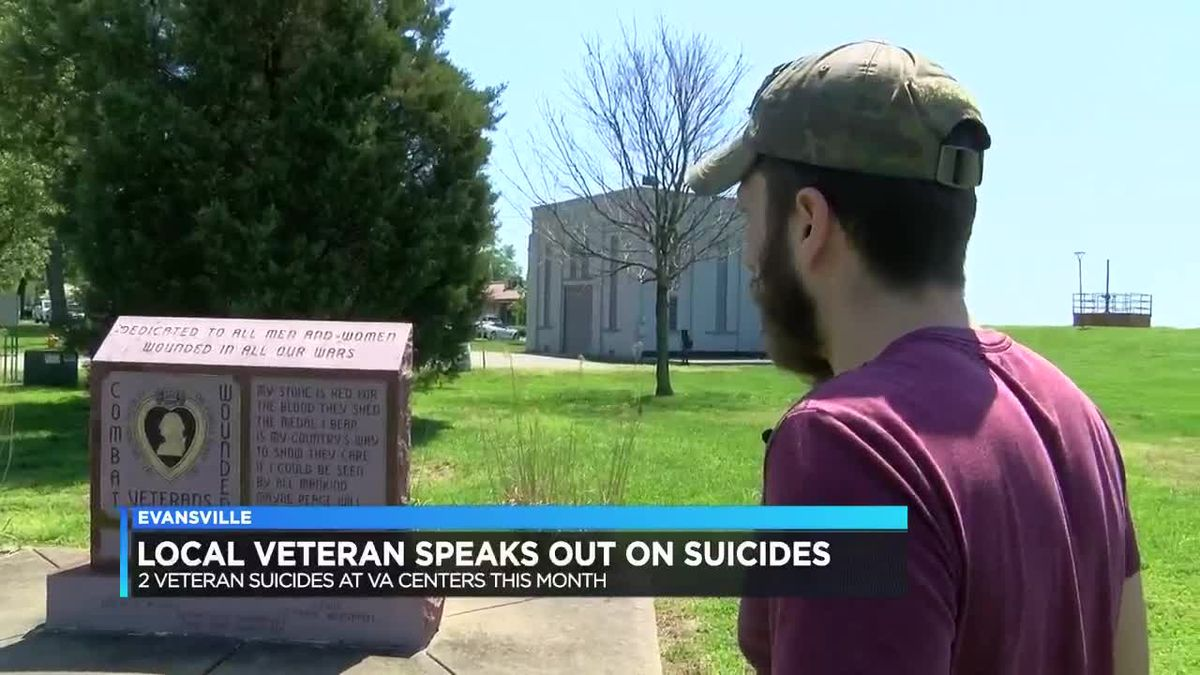 Local veteran helps shed light on suicide, PTSD, depression