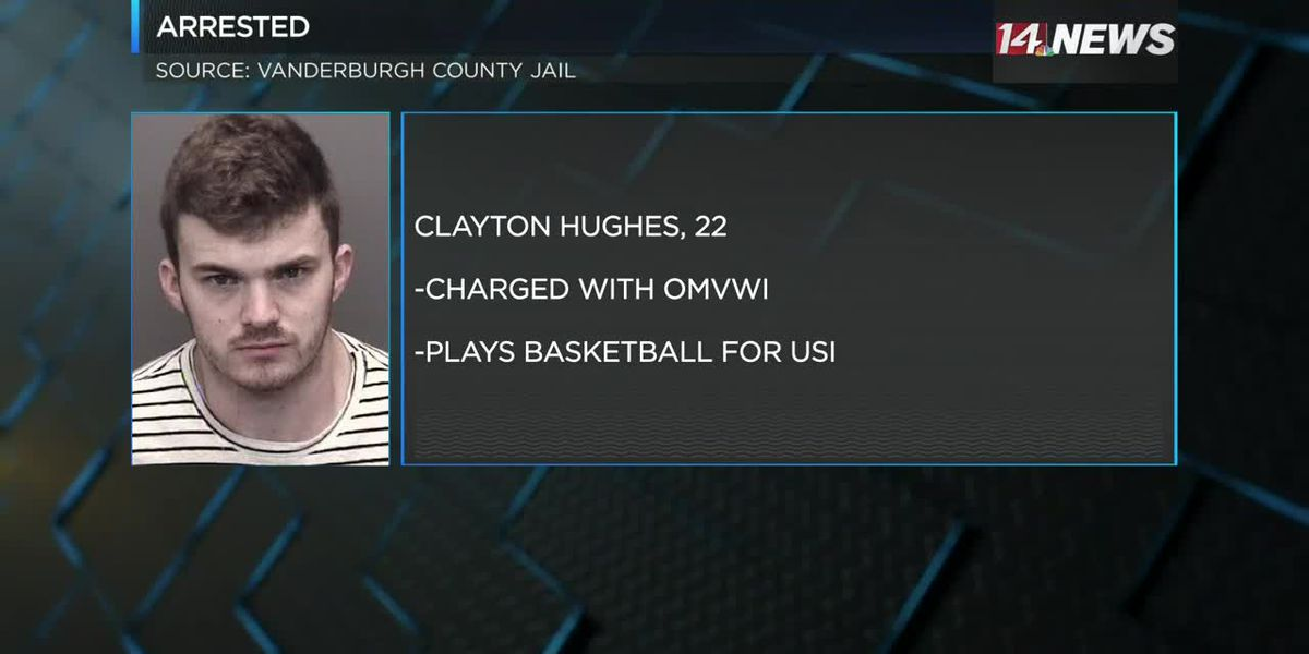 USI basketball player arrested on drunk driving charge