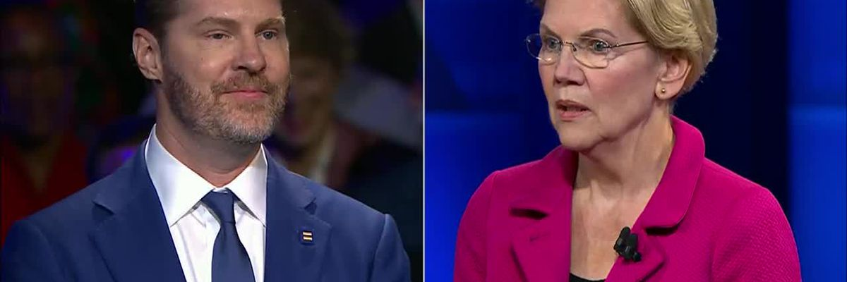Warren on one 1 man-1 woman marriage question: 'Just marry 1 woman ... assuming you can find one'