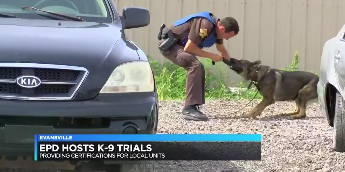 EPD hosts K-9 trials