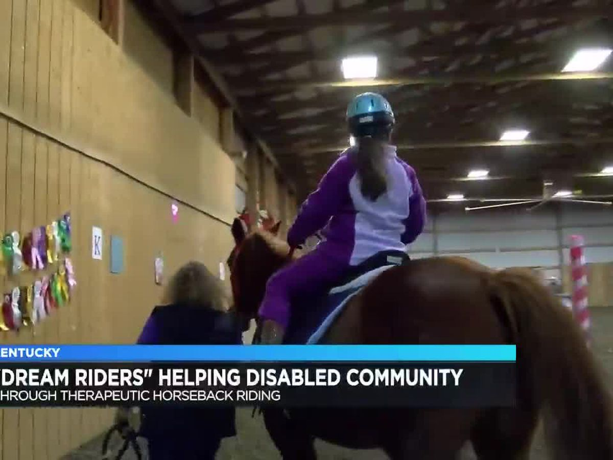 Dream Riders of Kentucky helps participants with disabilities through horseback riding