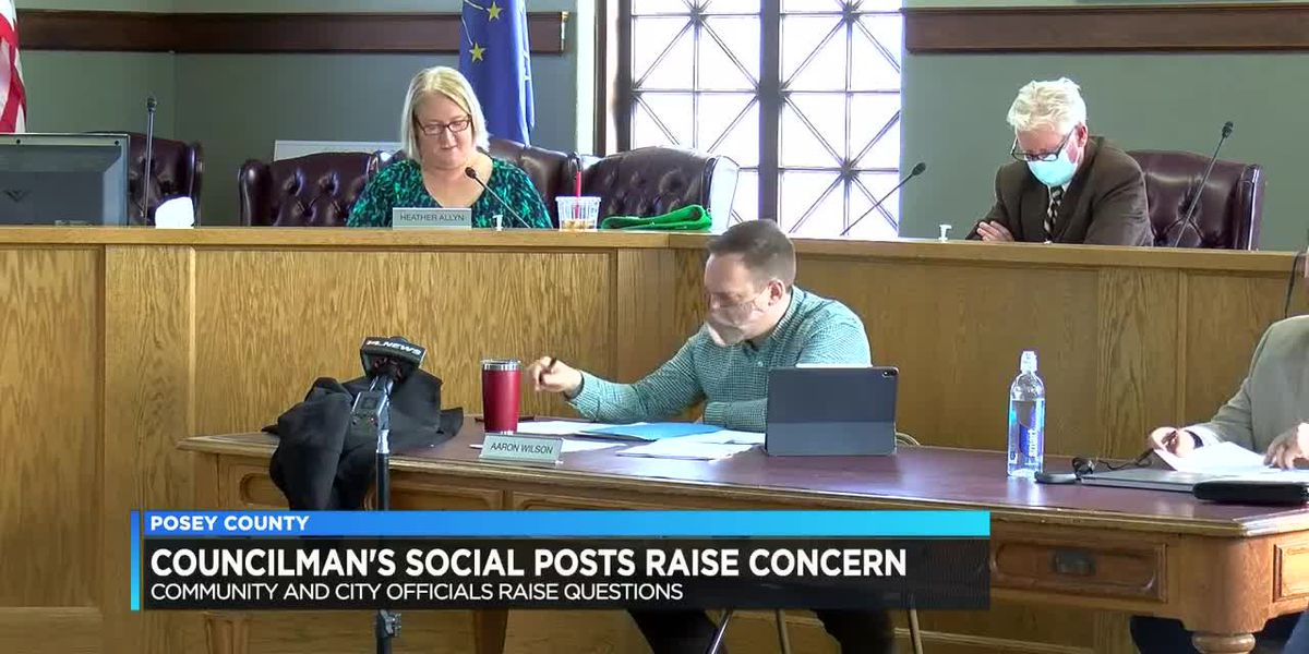 Posey County Councilman's social media posts raise concern for officials, residents