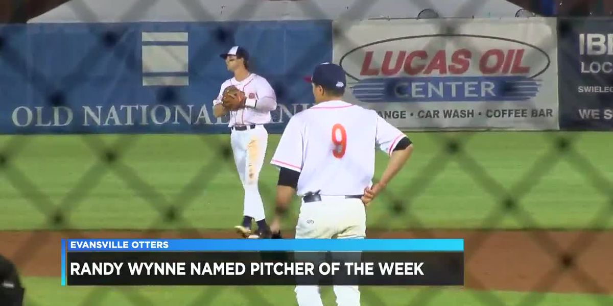 Wynne named Frontier League Pitcher of the Week