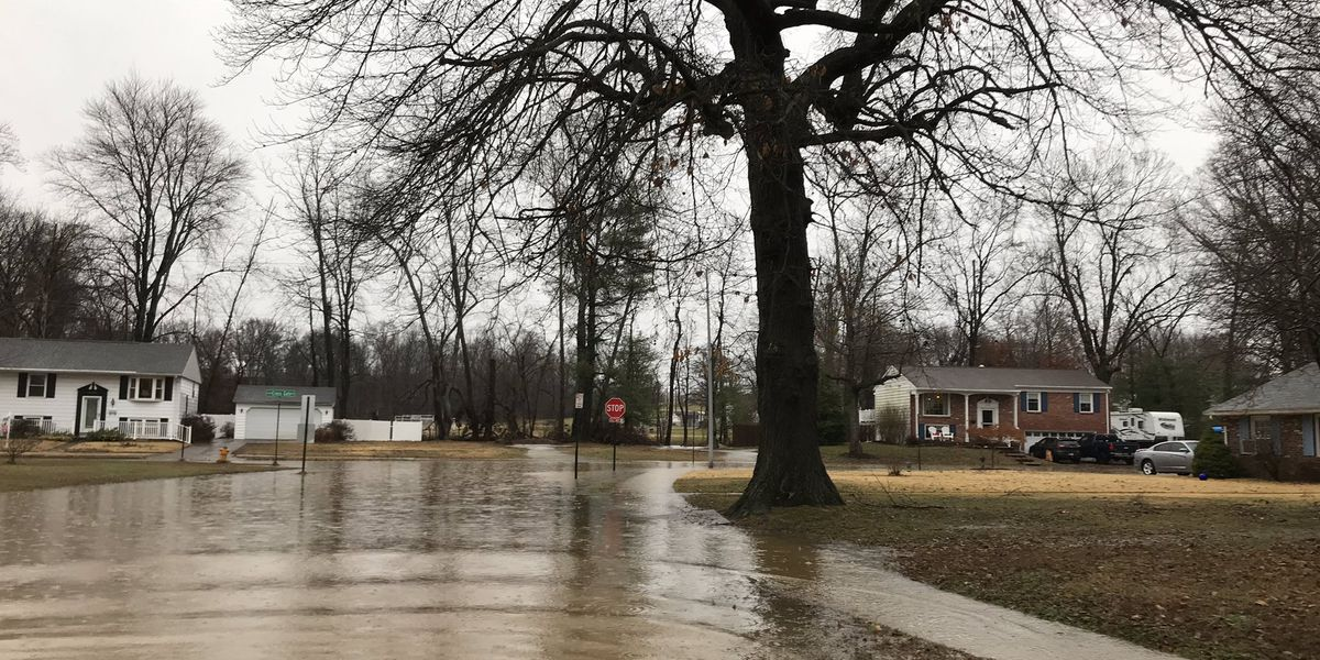Saturday's rainfall breaks century-old record for Evansville