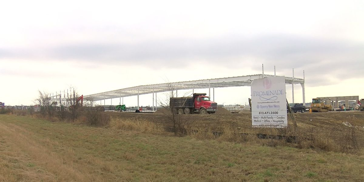 Promenade coming to life on Evansville's east side