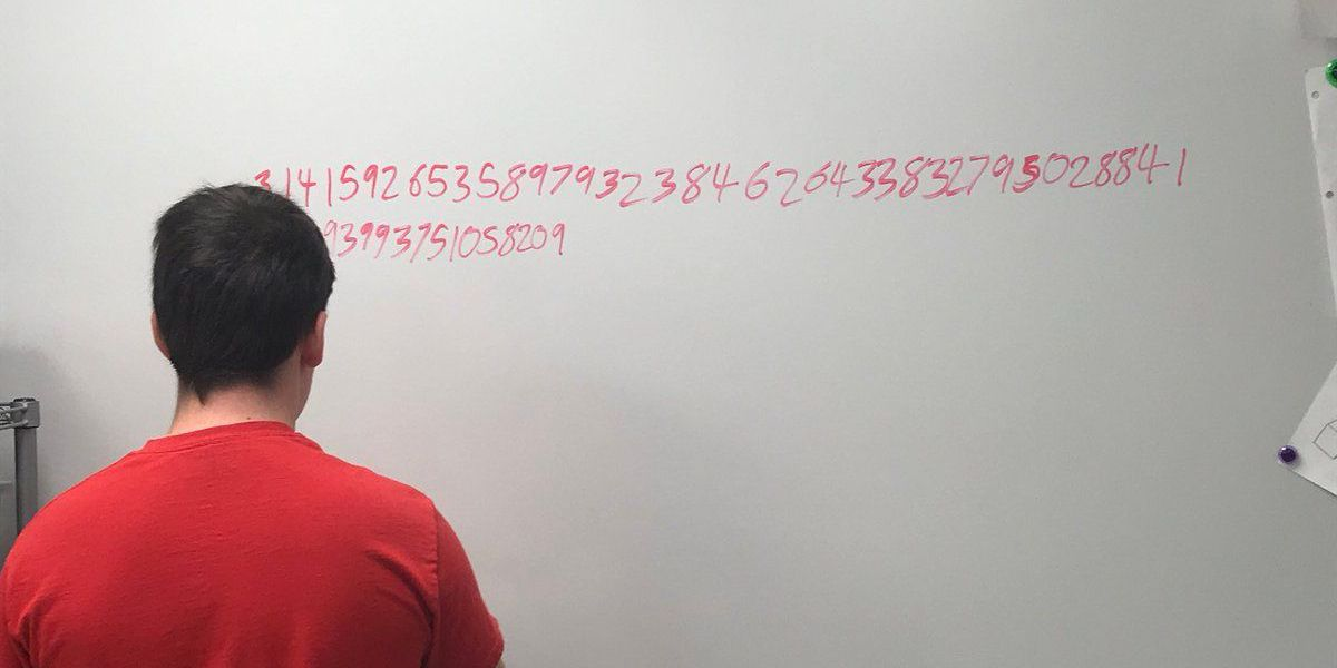 Apollo student memorizes first 100 digits of Pi