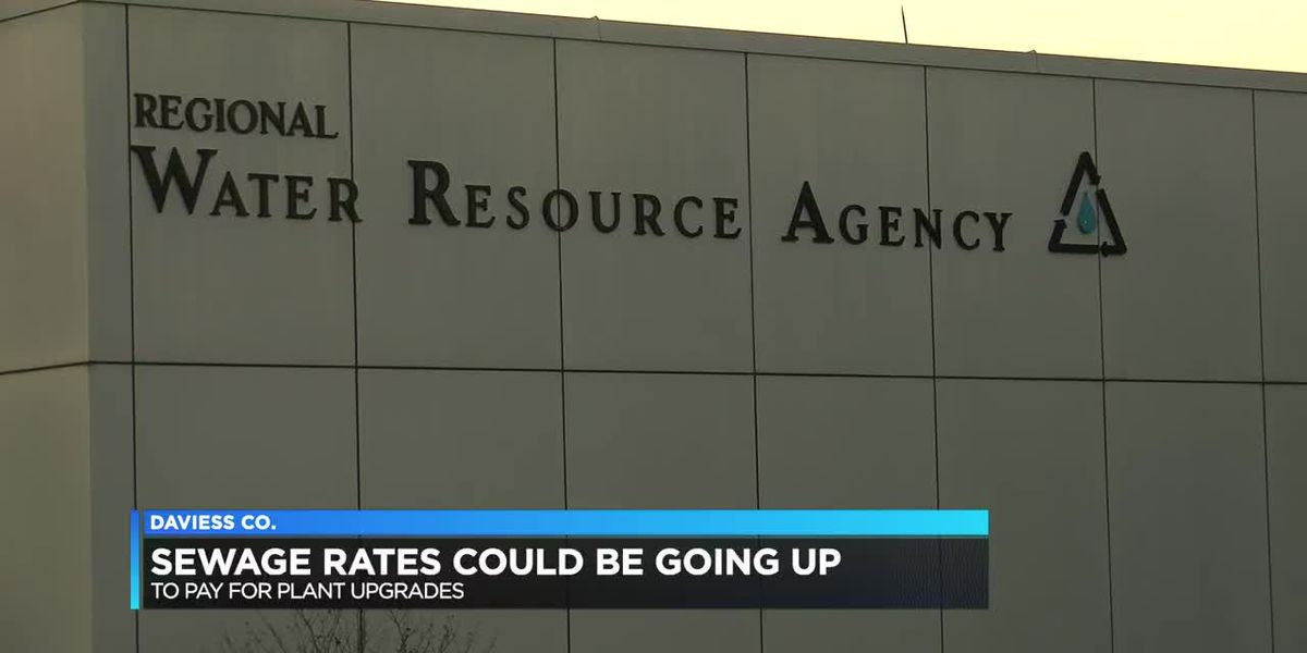 Sewage rates could increase in Daviess Co.
