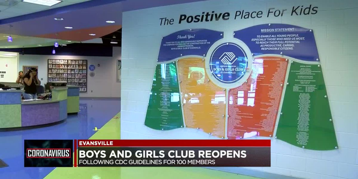 Evansville Boys and Girls Club reopens for summer program