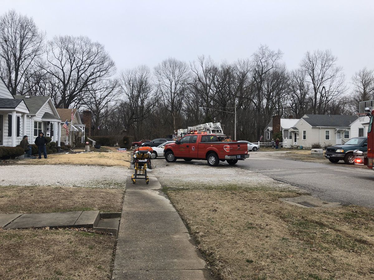 No one hurt in Evansville house fire