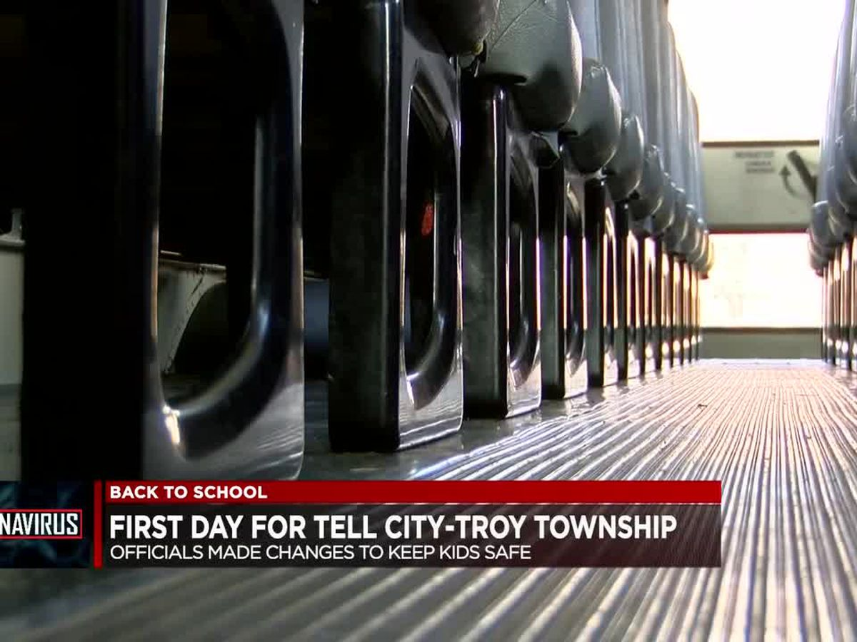 1st day back to school for Tell City-Troy Township