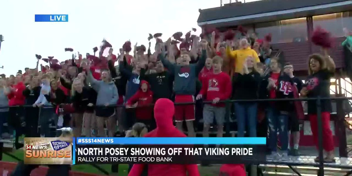 Sunrise School Spirit takes over North Posey High School, pt. 3