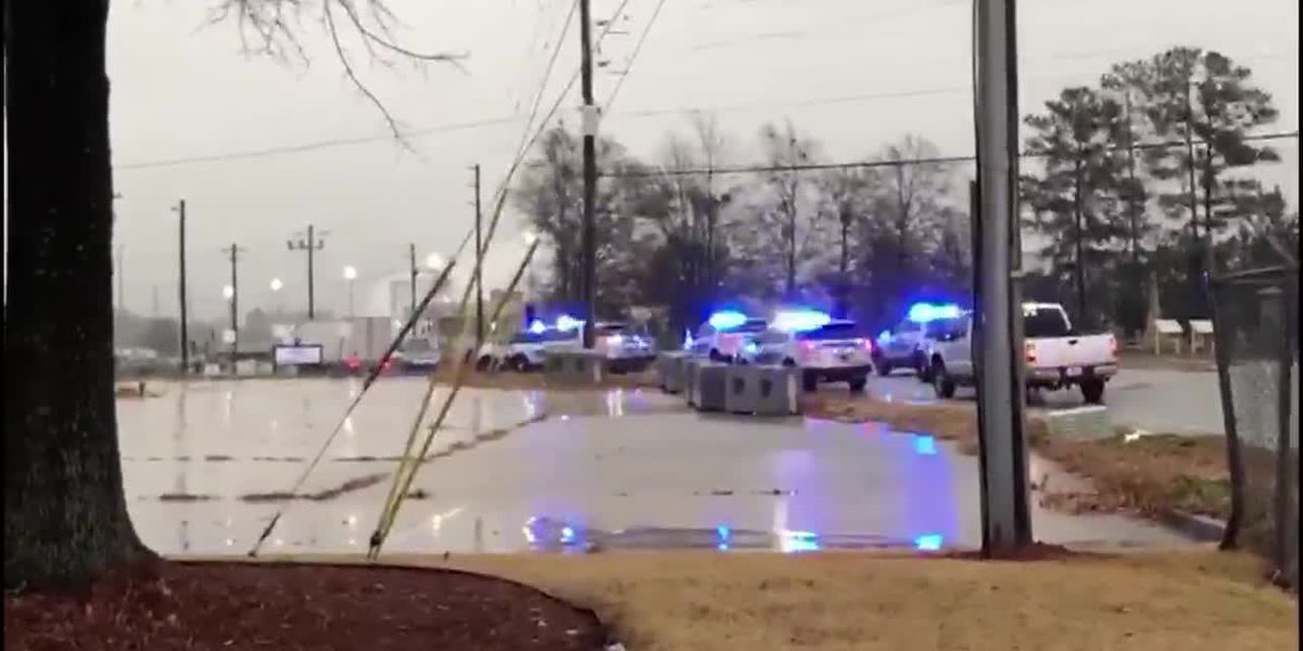 1 shot at plant outside Atlanta, building evacuated