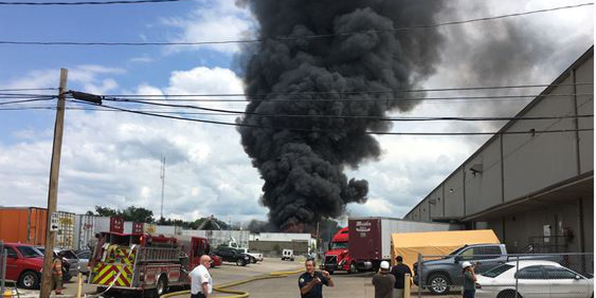 Fire officials: Large business fire started by piece of equipment